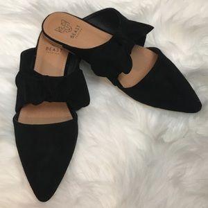 Shoes - 🆕The Maizy Ribbon Mule-BLACK